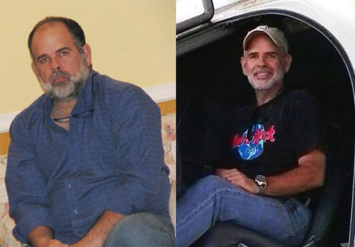 Low-Carb Diet - Photo showing how Jorge's Diet Affected His Body