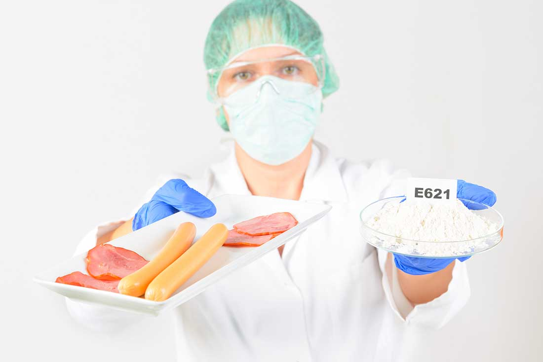 The lost art of fermented food - scientist holding preservatives.