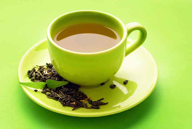 Low carb foods high in polyphenol antioxidants - green tea