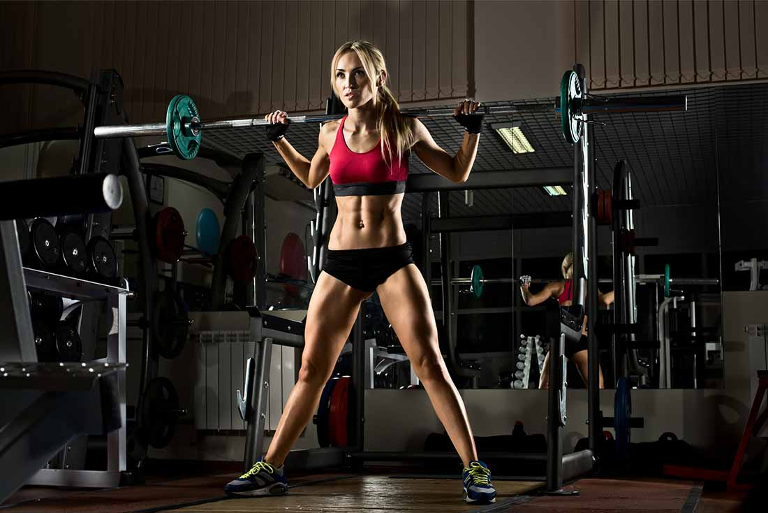 Gain weight with resistance training