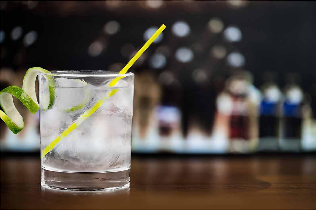 Gin - a No Carb Alcohol.