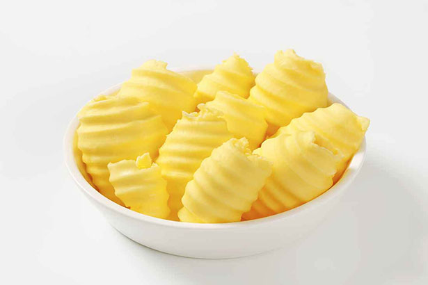 Picture of yellow butter