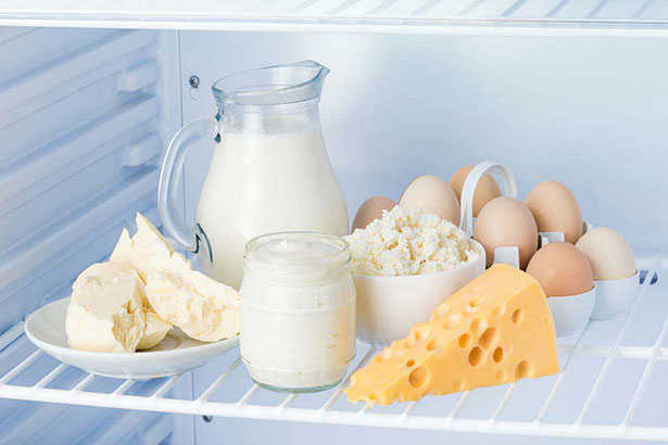 Picture of low carb dairy - cheese, milk, cream