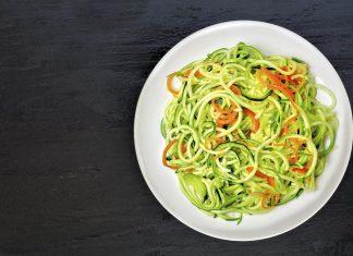 Picture of zoodles / low carb noodles.