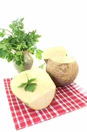 Picture of rutabaga - low carb vegetables