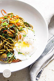 Picture of Simple Singapore Zoodles Recipe by Wild Orchard