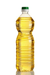 Picture of industrial vegetable oil - sometimes found in commercial baby foods.
