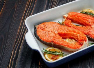 Picture of wild Alaskan sockeye salmon - health benefits article.