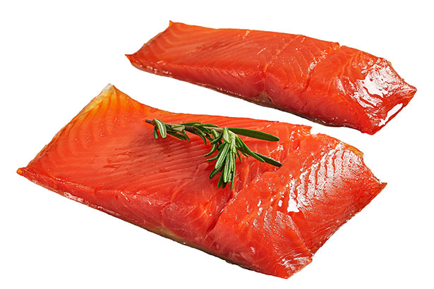 Picture of wild Alaskan sockeye salmon