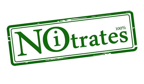 No Nitrate Sign. There Are No Nitrates in Traditional Prosciutto.