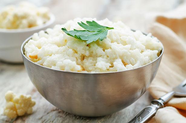 Keto Side Dish: Egg-fried Cauliflower Rice