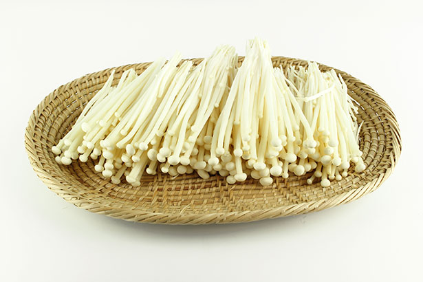 Picture of Enoki Mushrooms Ready For Cooking