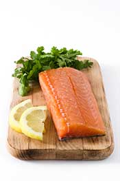 A Salmon Filled: It's a Great Food For Feeling Satiated.
