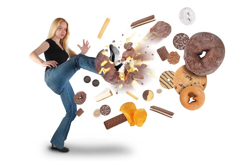 Eating Refined Foods Leads to Poor Satiation.