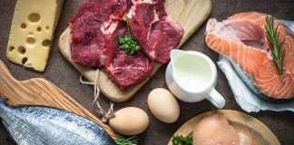 Picture of Some Foods Which Are Rich in Protein.