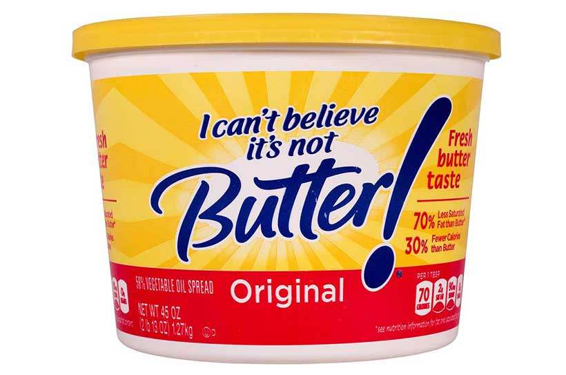 Margarine is Unhealthy and One of the Main Foods to Avoid.