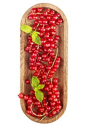 A Box of Fresh Redcurrants.