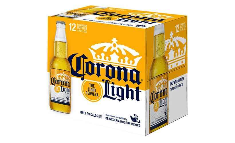 12-Bottle Box of Mexico's Corona Light Beer.