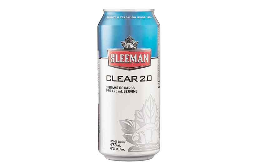 A Can of Sleeman Clear Low Carb Beer.